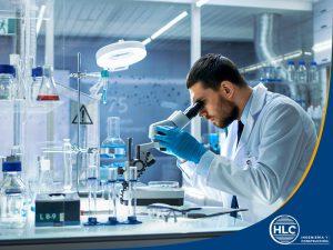 imagen de equipo de laboratorio metalúrgico