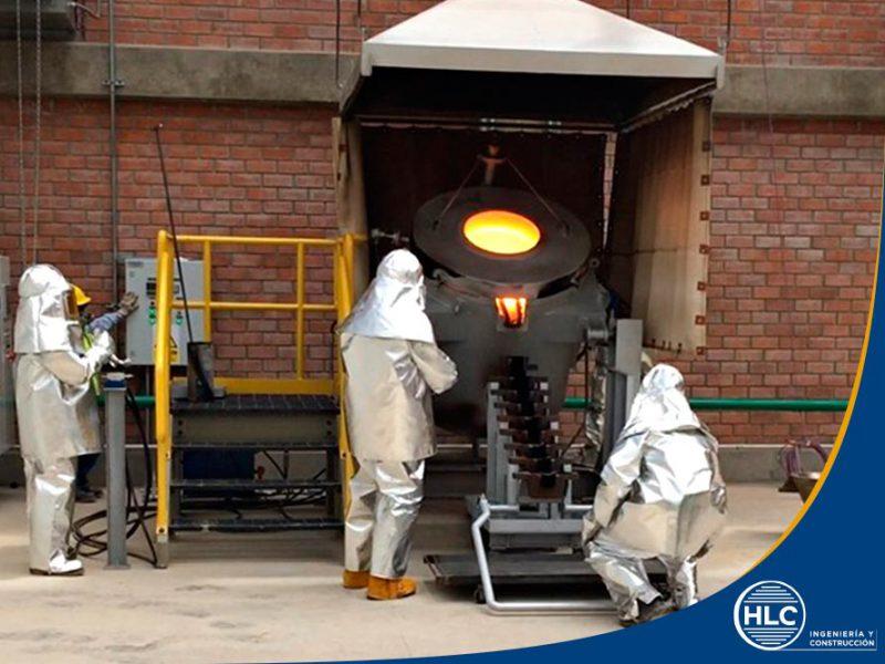 fabricación de hornos de fundición